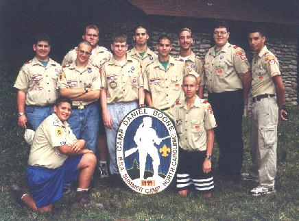 Summer Camp 1999 - Seniors.jpg (47656 bytes)